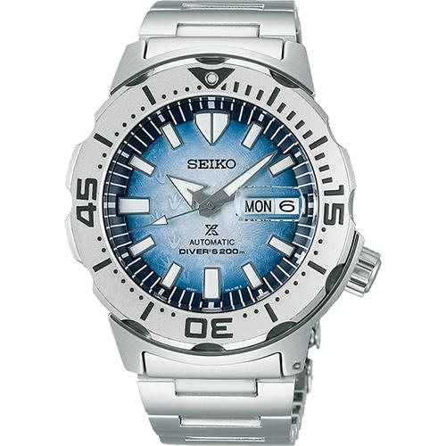 SEIKO精工 Prospex 愛海洋 南極企鵝 200米潛水機械錶 (SRPG57K1/4R36-11C0H)