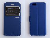 gamax Apple iPhone 6/iPhone 6S 側翻手機保護皮套 磁扣側立 內TPU軟殼全包 視窗商務系列