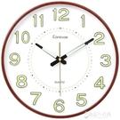 凱諾時鐘錶掛鐘客廳夜光創意現代簡約掛牆石英鐘靜音時尚大氣家用  【快速出貨】