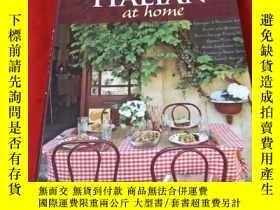 二手書博民逛書店ITALIAN罕見at home:Favorite Restau