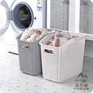 塑料手提臟衣籃浴室洗衣籃臟衣服收納筐玩具...