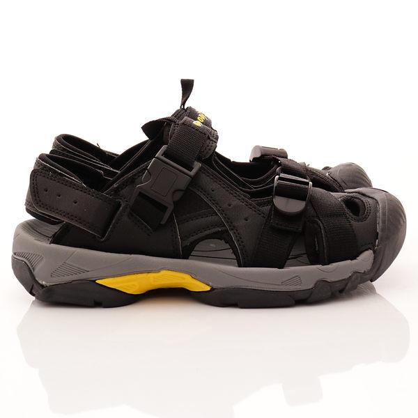 【GOODYEAR】護趾運動涼鞋-GAMS83660-黑-男段