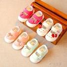 女寶寶小童鞋子嬰兒學步鞋公主布單鞋軟底幼兒涼鞋夏1-3歲2一 俏女孩