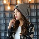 帽子 多款多色 韓版男女雙層布標加邊 月子帽 毛帽 69694