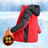 冬季沖鋒衣男加絨加厚潮棉衣戶外冰庫服抗寒保暖冷庫服抓絨防寒衣 雙十一鉅惠