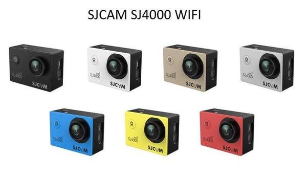 SJ4000 WIFI 贈安全帽弧座【SJCAM台灣唯一專門店】 [運動攝影機、行車記錄器、山狗]