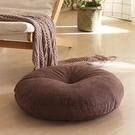 亞麻蒲團坐墊地上家用日式可拆洗加厚大號榻榻米墊子圓形懶人坐墊快速出貨快速出貨