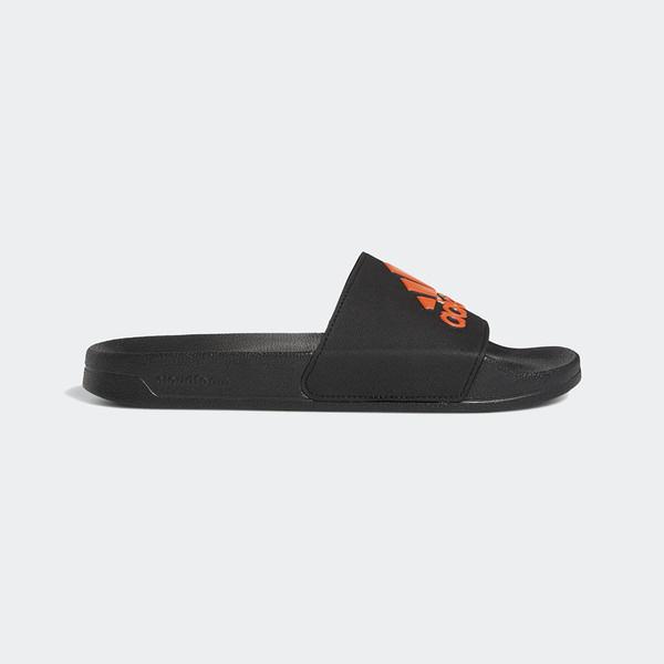 Adidas Adilette Shower [EE9015] 男女 運動 涼鞋 拖鞋 休閒 舒適 輕量 愛迪達 黑橘