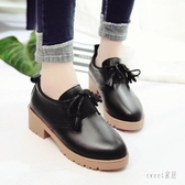 2020夏季新款大碼平底單鞋英倫風軟皮小皮鞋日系女jk鞋百搭工作鞋 LR25698『Sweet家居』