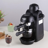 CRM2008家用咖啡機迷你全半自動意式現磨壺煮小型蒸汽式 LX  220V交換禮物