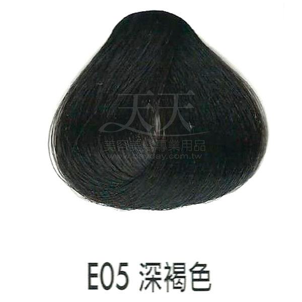 【專業推薦】耐婷 亮彩染髮劑 E05-深褐色 60g [65539]