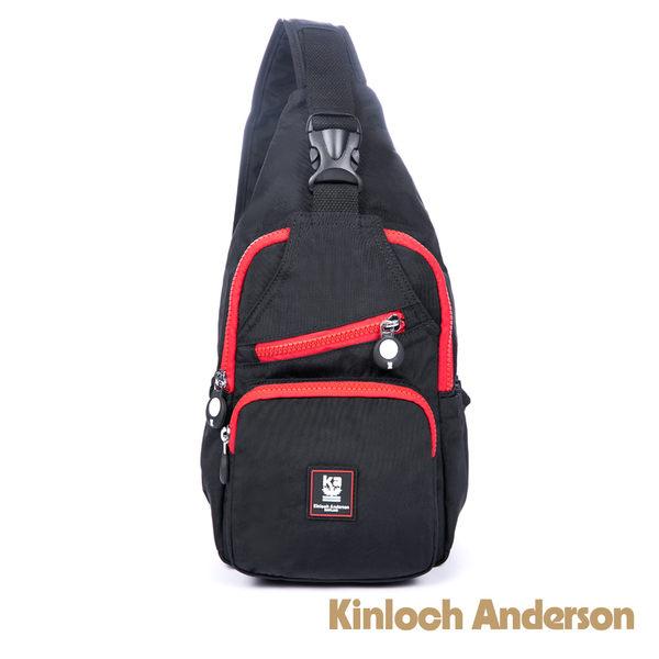 【金安德森】極簡耀色 輕巧休閒2Way肩背包-低調黑紅
