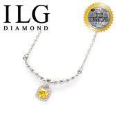 【頂級美國ILG鑽石】八心八箭項鍊-英式古典款-NC171