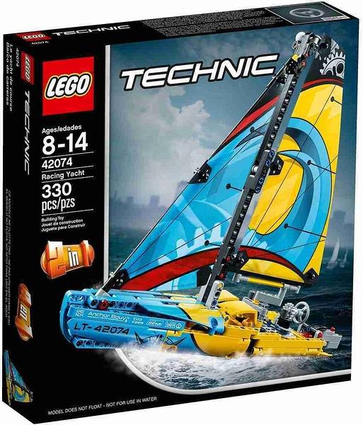 LEGO 樂高 Racing Yacht 競速賽船 42074