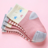 女童襪子純棉春秋中筒襪女韓國寶寶兒童春夏童襪1-3-5-7-9歲秋季