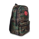 Nike 包包 Jordan 男女款 綠 迷彩 後背包 大容量 夾層 筆電 喬丹【ACS】 JD2143007GS-003