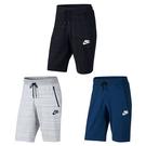 【現貨】NIKE SPORTSWEAR ADVANCE 15 黑灰深藍色 3色 網布 透氣 休閒 拉鍊口袋 運動 短褲