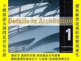 二手書博民逛書店Details罕見in Architecture (Volume