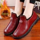 老北京棉鞋 棉鞋女冬季加絨保暖中老年媽媽鞋短靴加厚防滑老北京布鞋奶奶棉靴 米家