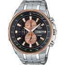 【僾瑪精品】CASIO EDIFICE 時尚科技雙顯賽車錶-黑/50.3mm/EFR-549D-1B9