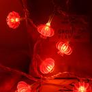 【BlueCat】室內裝飾紅燈籠LED燈串 (3米20燈)