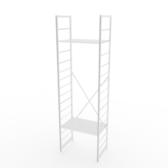 (組)特力屋萊特二層架白框/白板-60x40x188cm