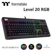 Thermaltake 曜越 Level 20 RGB 機械式 雷蛇軸 電競 有線 鍵盤 KB-LVT-RGBRUS-01