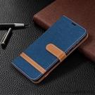 適用Nokia1.3手機殼翻蓋插卡諾基亞1.3保護套軟膠時尚牛仔布拼接
