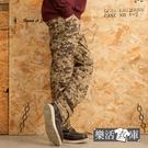 【2034】菁英之選戰術迷彩多口袋休閒長褲(黃色)● 樂活衣庫