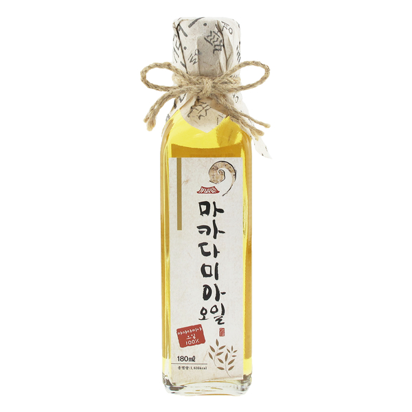 韓國Hojae 養生夏威夷果仁油180ml 吃對油體內就囤好油 現貨 宅家好物