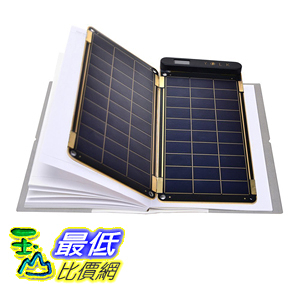 [106美國直購] YOLK YKSP 太陽能 充電器 5W Solar Paper Worlds Thinnest and Lightest Portable
