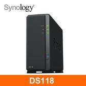 Synology群暉科技 DS118 網路儲存伺服器