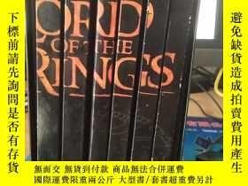 二手書博民逛書店The罕見Lord of the Rings(指環王2.3.4.