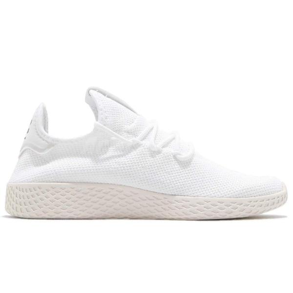 adidas 休閒鞋 PW Tennis HU Pharrell Williams 白 米白 聯名款 運動鞋 男鞋 女鞋【ACS】 B41792