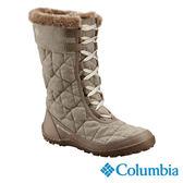 Columbia 女 防水保暖雪鞋-卡其灰 【GO WILD】