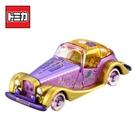 【日本正版】TOMICA 長髮公主 老爺車 玩具車 日本7-11限定款 Disney Motors 多美小汽車 - 161189