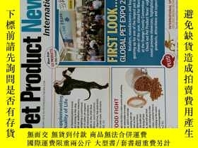 二手書博民逛書店Pet罕見Product News 2016 02 寵物產品設計時尚英文雜誌Y14610