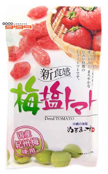 【吉嘉食品】沖繩美健 梅鹽番茄乾 每包85公克,日本進口,蕃茄乾,番茄梅 [#1]{4589442538037}
