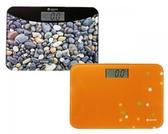 體重計 安全輕巧電子體重計(橘)