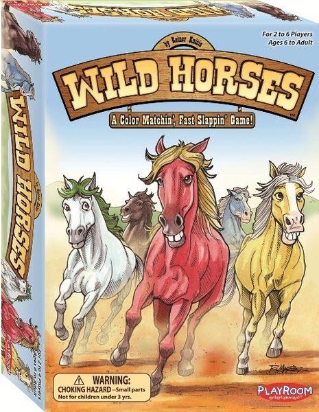 【KANGA GAMES】野馬快手 Wild Horses 家庭益智派對桌上遊戲