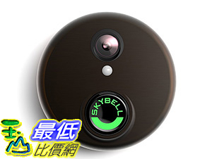 [美國直購] SkyBell HD Bronze Video Doorbell