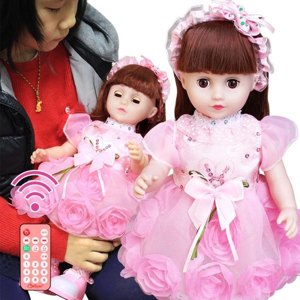 會說話的芭芘娃娃智能娃娃會對話洋娃娃兒童女孩玩具巴比仿真布娃CK【全館滿999折89折】