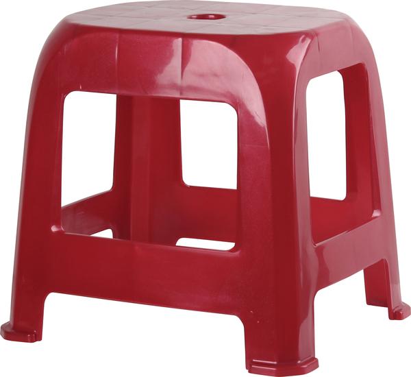 HOUSE【EI1008】CH57夜市椅(中)10入 (紅、藍、咖三色可選) 傢俱/折疊椅/塑膠椅/板凳