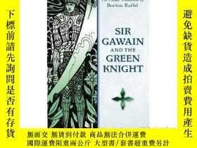 二手書博民逛書店高文爵士和綠騎士罕見英文原版 經典文學 Sir Gawain and the Green Knight (Sign