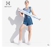 美國HOTSUIT運動毛巾男女健身房吸汗加長速幹擦汗巾跑步網球 城市科技