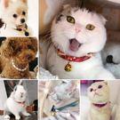 寵物裝飾品繩編項圈狗狗貓咪兔子小型犬飾品日本和風項圈鈴鐺項鍊  無糖工作室