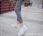老爹鞋女2020新款原宿百搭ULZZANG運動鞋小白鞋韓版學生智熏板鞋  (橙子精品)