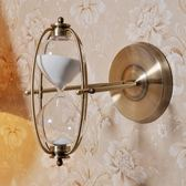 愛情時間沙漏計時器擺件30/60分鐘創意七夕情人節禮物送女友金屬    蜜拉貝爾