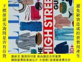 二手書博民逛書店ELLE罕見SHOPS THE HIGH STREET GUIDE 時尚服裝配飾服飾Y14610