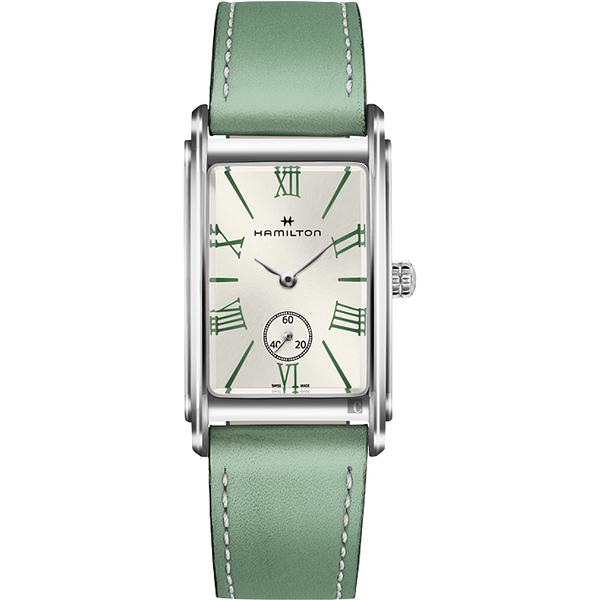 我們與惡的距離 Hamilton 漢米爾頓 美國經典女錶-蒂芬妮綠/23.4mm H11421014